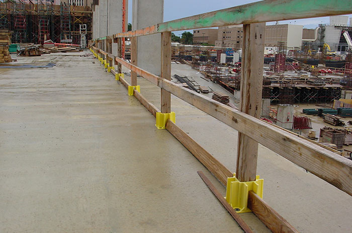 Safety Boot Guardrail System Prevents Workplace Falls