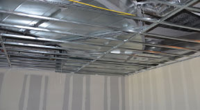 Armstrong S Shortspan Makes Drywall Ceiling Framing Easy