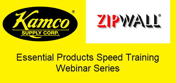 Essential Products Speed Training Webinar - Zipwall